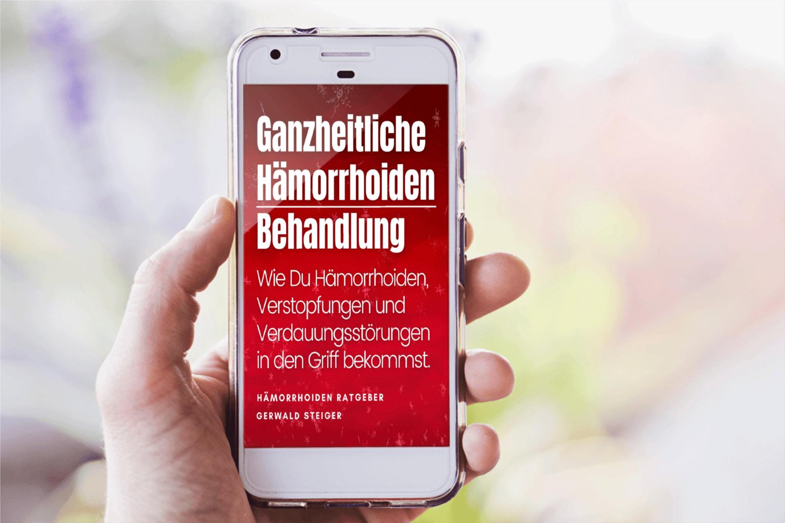 Buch-Hämorrhoiden-Mobile
