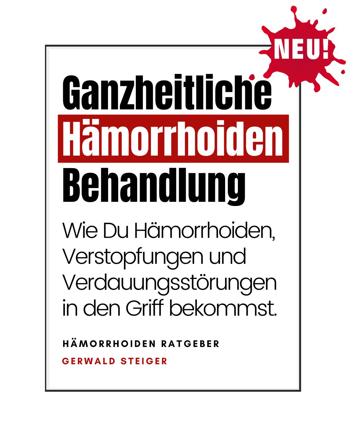 e-book Cover Haemorrhoiden